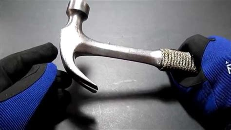 Estwing Claw Hammer with ParaCord Handle - YouTube