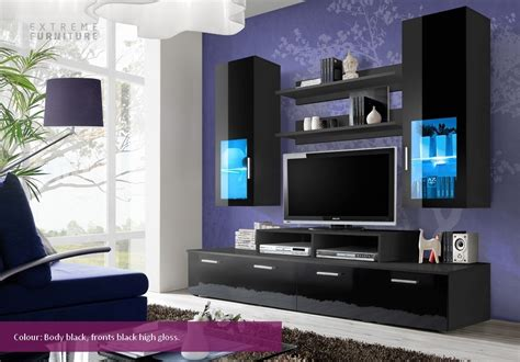 tv stand cabinet with led lights high gloss floating wall mini tv cabinets tv stands wall unit