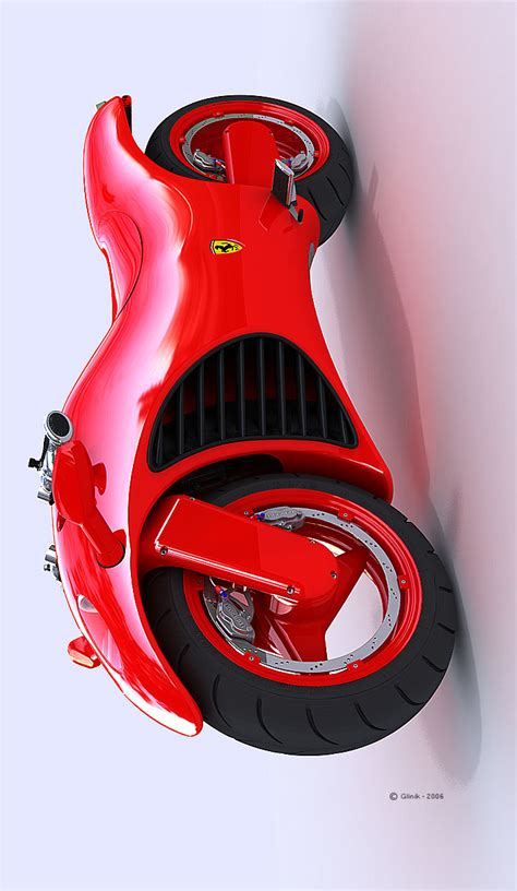 Ferrari V4 Motorcycle Concept News Top Speed