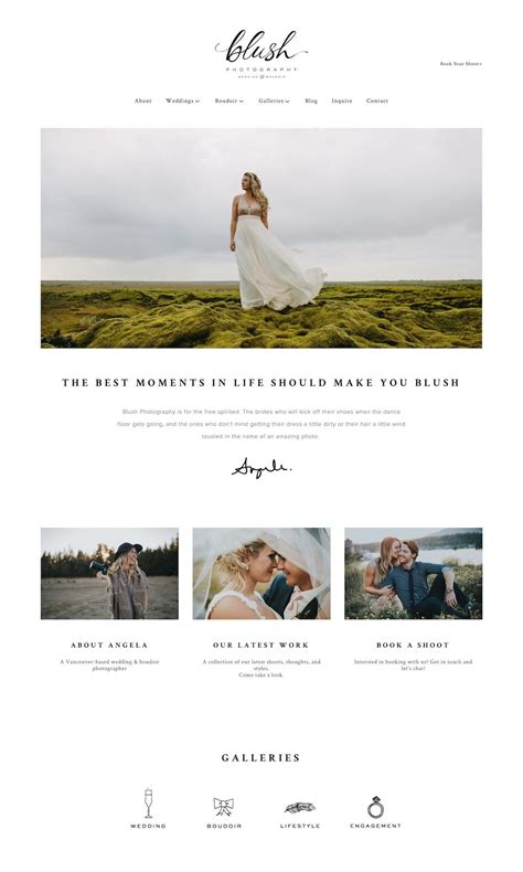 Best Template Squarespace by Best Squarespace Template For Photographers Best