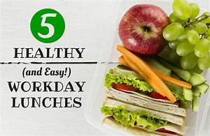Brown-Bagging Made Easy: 5 Healthy Lunch Ideas | SparkPeople  Healthy