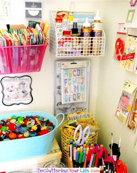 Diy Craftroom Organization  Unexpected & Creative Ways To