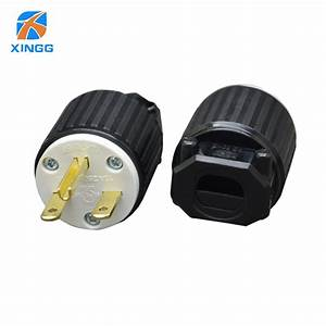 Xingg Ul Approved Us American Industry Ac Power Wire Plug