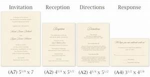 standard wedding invitation size reglementdifferendcom With size of response cards for wedding invitations