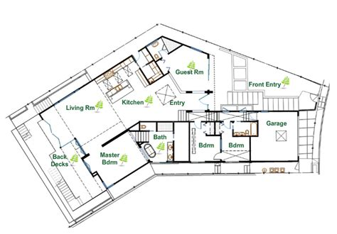 Green House Designs Floor Plans by Sustainable Luxury In The Vicino House