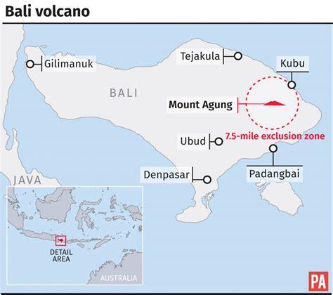 flee  bali volcano eruption fears