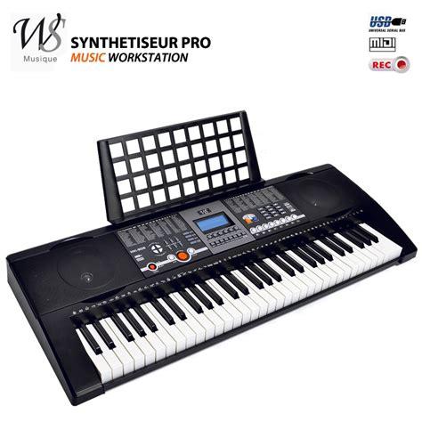 couteaux cuisine pro synthetiseur electrique clavier piano 61 touches midi usb instruments de musique topkoo