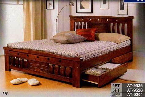 queen bed frames   solid wood queen bed frame