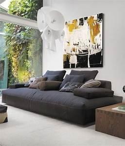 17 meilleures idees a propos de canapes gris fonce sur With tapis chambre bébé avec coussin xxl pour canapé
