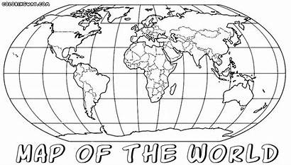 Coloring Map Printable Pdf Worldmap Colorir Poppy