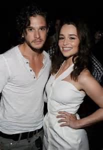Kit Harington Emilia Clarke