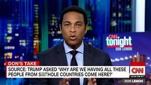 Don Lemon, Anderson Cooper slam Trump's 's--thole ...