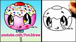 Draw this Super Cute Cake Pop (and EAT it???!!) - YouTube
