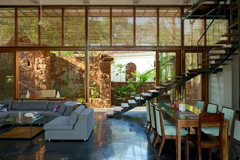 Home Design In Harmony With Nature : Eco-friendly Country Home I Aldona, Goa Indian Homes