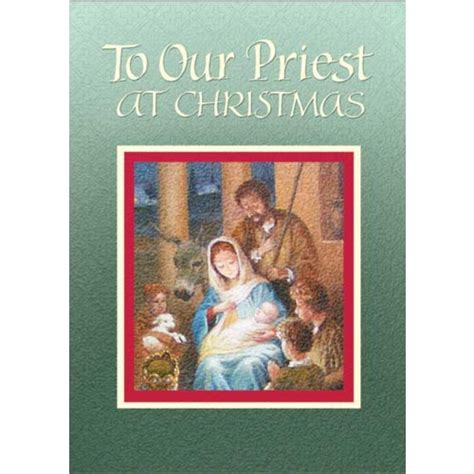 gifts for priests christmas priest at cards 5 pack the catholic company