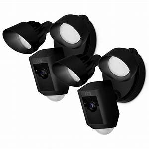 Ring outdoor wi fi cam with motion activated floodlight