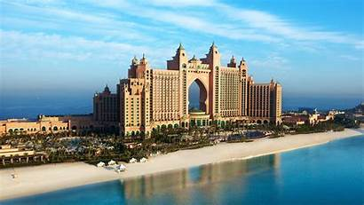 Dubai 4k Palm Island Beach Wallpapers Hotel