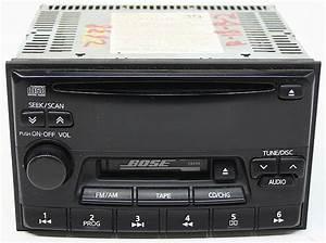 Infiniti Q45 1999 Fm Tape  U0026 Cd