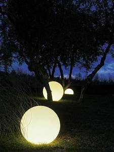 Glowing orbs turn your outdoors into a magical place
