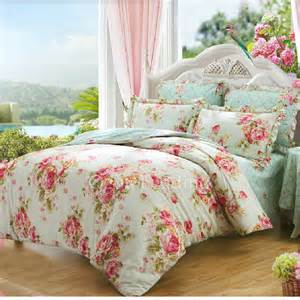 romantic rustic beige and pink floral comforter sets full
