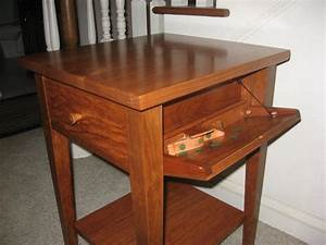 Nightstand plans with hidden compartment – Security sistems