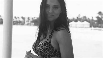 Adriana Lima Supermodels Gifs Film Bikini Woman