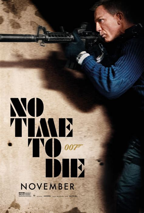 No Time to Die Movie Poster (#19 of 19) - IMP Awards