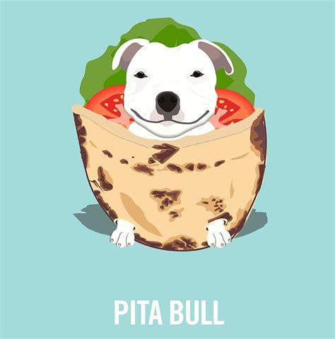 illustrator creates hilarious dog human food puns