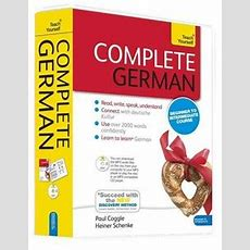 Dymocks  Complete German Beginner To Intermediate Book And Audio Course By Heiner Schenke