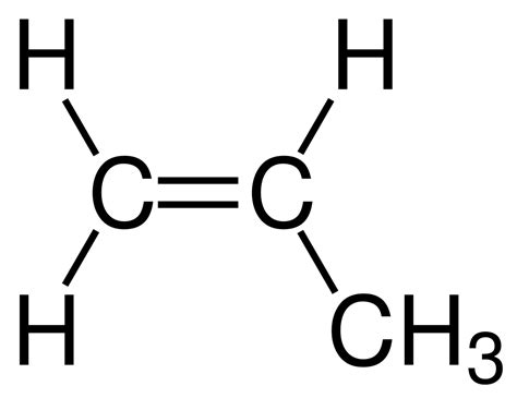 what is structural formula file propene structural formula v1 svg wikimedia commons
