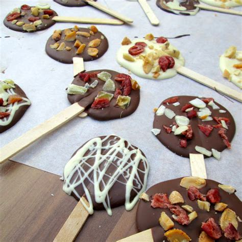 sucette au chocolat facile 224 faire