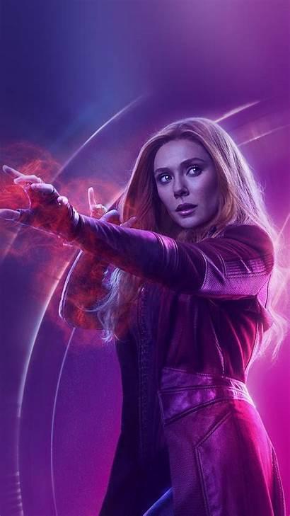 Iphone Witch Scarlet Hero Avengers Marvel Film