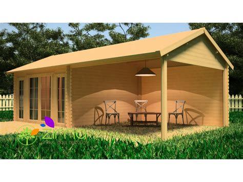 Pool House En Kit Chalet Pool House 3 8m X 3 8m 3 8m