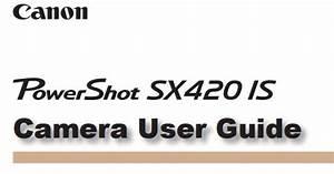 Canon Camera News 2020  Canon Powershot Sx420 Is Pdf User Guide    Manual Downloads