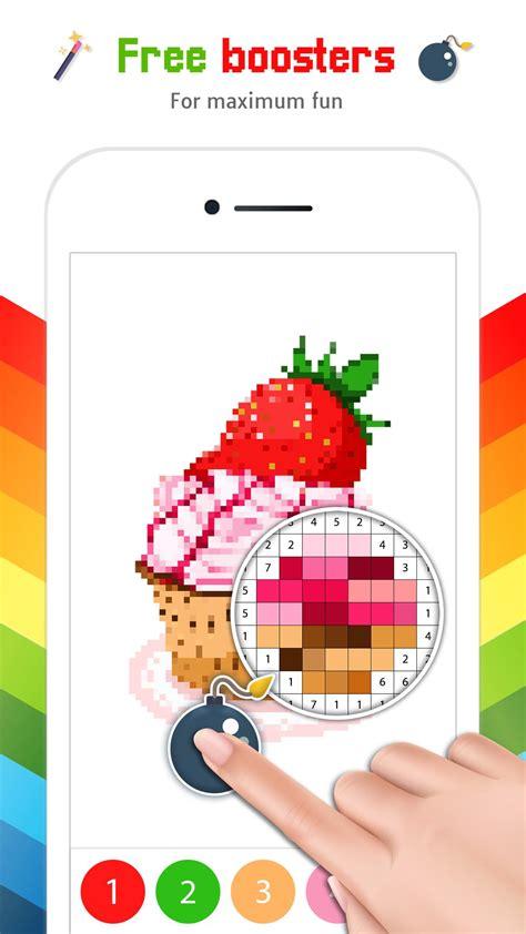 Pas als je de nummers in gaat kleuren, ontstaat er een schitterende kleurplaat vol vrolijke kleuren. Kleuren op Nummer: Kleurplaten Volwassenen for Android - APK Download