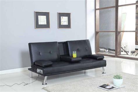 sofa mit bluetooth wunderbare faux leder sofa bett mit bluetooth kino sofa bett mit trinken becherhalter tabelle