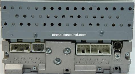 2008 Toyotum Corolla Radio Wiring by Toyota Corolla Radio Cd Player 86120 02430 Factory Radio