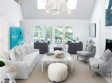 Grey And Turquoise Living Room by White And Gray Living Room Contemporary Living Room