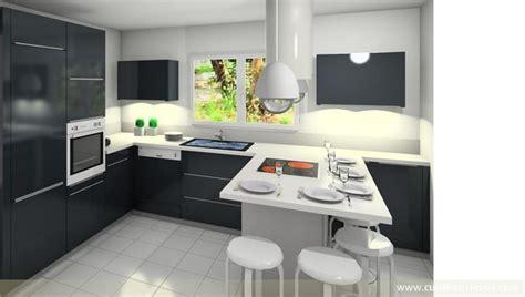 cuisine moderne en u cuisine en u quartz clair 38 cuisines raison