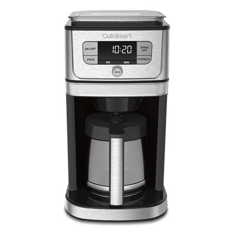 Best coffee makers with grinder 2020   top 5 coffee makers with grinder 2020. Cuisinart BURR GRIND & BREW Coffee Maker with Grinder   Personal Edge