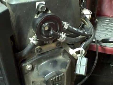 small engine repair checking  vacuum fuel pump fuel