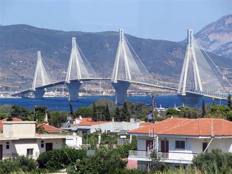Patras Greece Patras Greece Bridge Hd Travel Photos