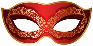 Red and Gold Carnival Mask PNG Clip Art Image | Gallery ...