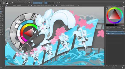great linux design tools digital artists