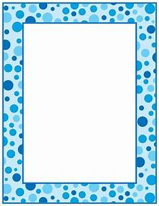 Blue Polka Dot Border | Planos de fundo, Dia do pai, Dua ...