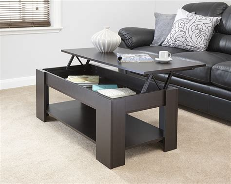 Pull Up Coffee Table