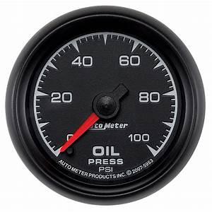 Autometer 5953 Es Electric Oil Pressure Gauge