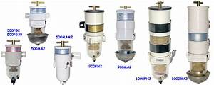 Racor Fuel Filter  Water Separators - Turbine Series - Fuel Filters And Water Separators