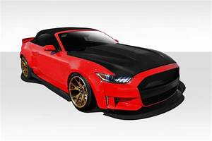 Welcome to Extreme Dimensions :: Item Group :: 2015-2017 Ford Mustang Duraflex Grid Wide Body ...