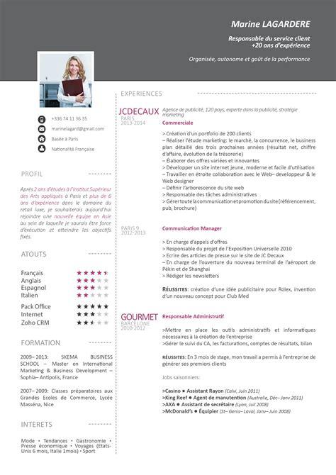 Telecharger Modele De Cv Gratuit by Mycvfactory Cv Design Cv Gratuit Mod 232 Le Cv Et Modele